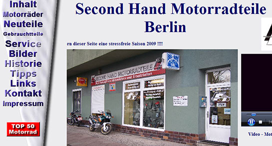 Second Hand Motorradteile